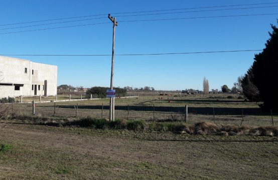 Terreno en zona residencial